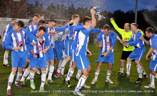 Cliffe FC 3 - 2 Drum Athletic | Cliffe FC - East Riding FA County Cup Winners 2013/14