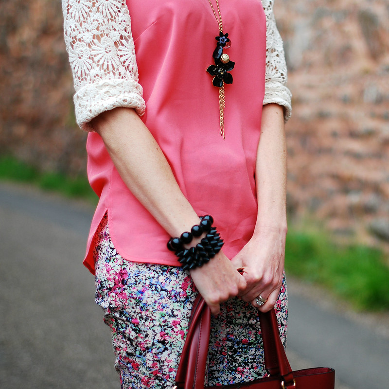 How to style florals SS14