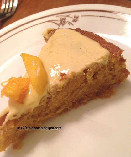 Learning new tricks and celebrating mom with mango cake
