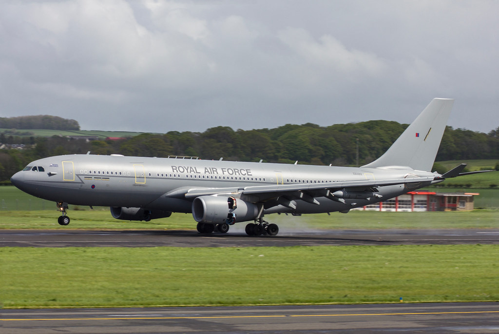 Voyager RAF Airbus A330 Multi Role Tanker Transport