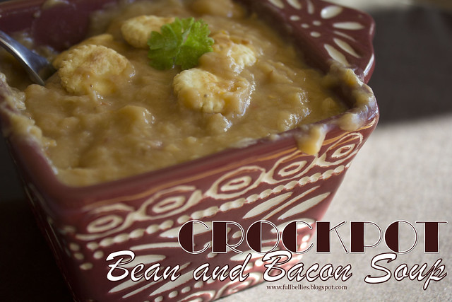 Crockpot Bean and Bacon Soup