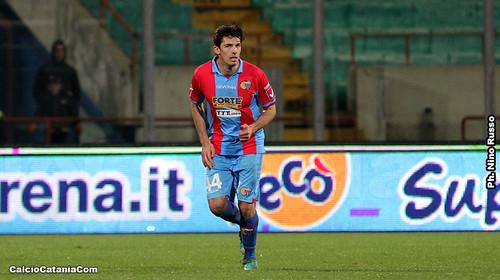 Catania-Livorno 1-1, obiettivo 50 sfiorato$