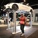Marty McFly at the 2015 AutoShow