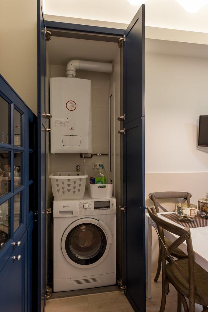 Reforma integral en sant gervasi standal for Mueble lavadora ikea