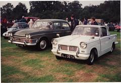 Triumph Herald Coupe c.1963 & Humber Super Snipe 1964