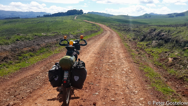 South from Kitale National Park