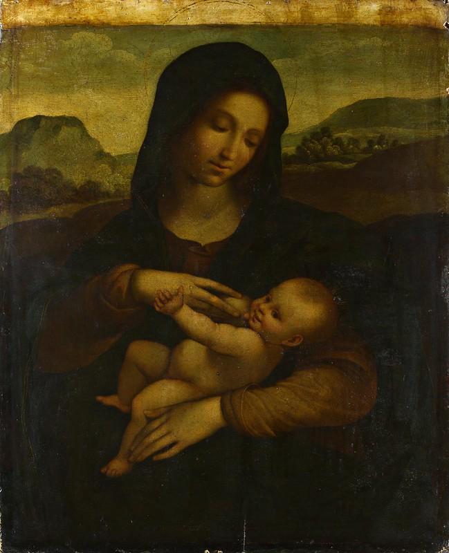 Il Sodoma - The Madonna and Child (c.1520)
