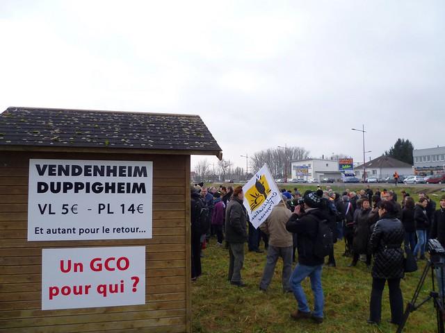 Vendenheim, 24 janvier 2015 – Inauguration 3e cabane anti-GCO P1050256