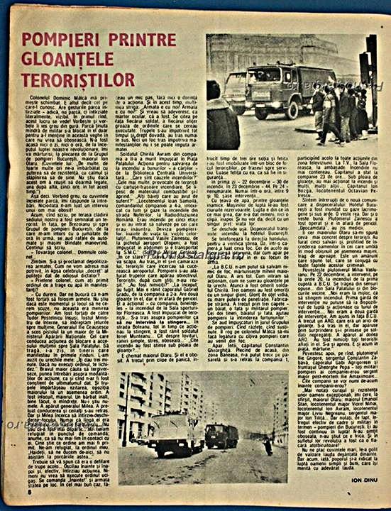 """""""Pompieri printre gloanțele teroriștilor"""""""