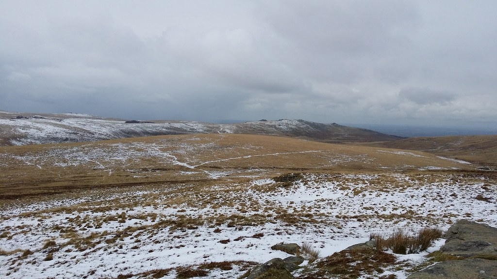 Belstone Tors from Hound Tor #SH