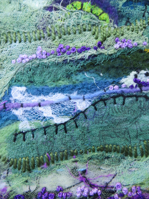 Dreaming: Lavender Fields (detail)
