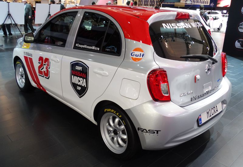 Nissan Micra Cup Car