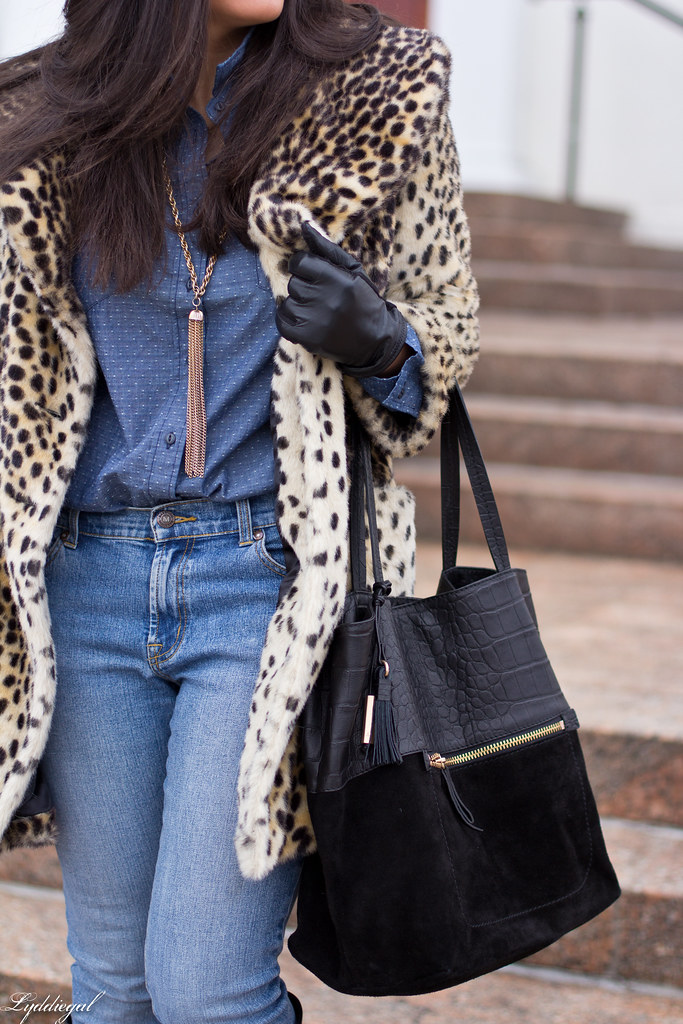 polka dot chambray, double denim, leopard coat-4.jpg