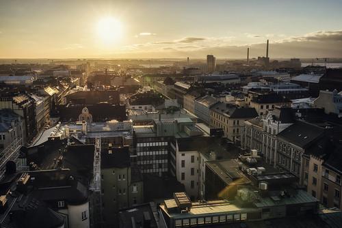 Above Helsinki