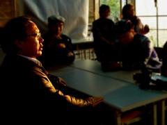 海山博士對內蒙古地理有無限的熱情。攝影:洪郁婷