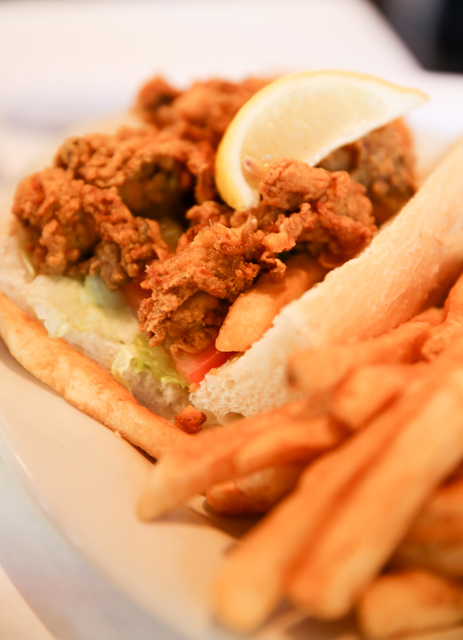 Po Boys in New Orleans
