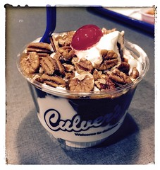 Turtle Sundae from Culver's
