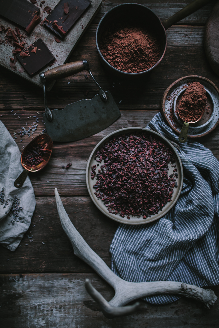 Dark Chocolate Cake With Lavender Ganache + A Portland Workshop