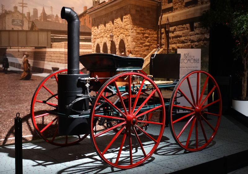 1867 Henry Seth Taylor Steam Car