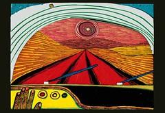 626 The Way to You Shared via #WikiArtApp Friedensreich Hundertwasser, 1966