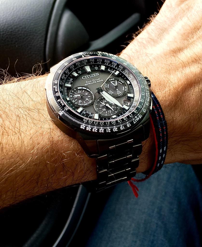 05941d2a138 ... Citizen Promaster Navihawk CC9025-85E satellite wave GPS titanium watch