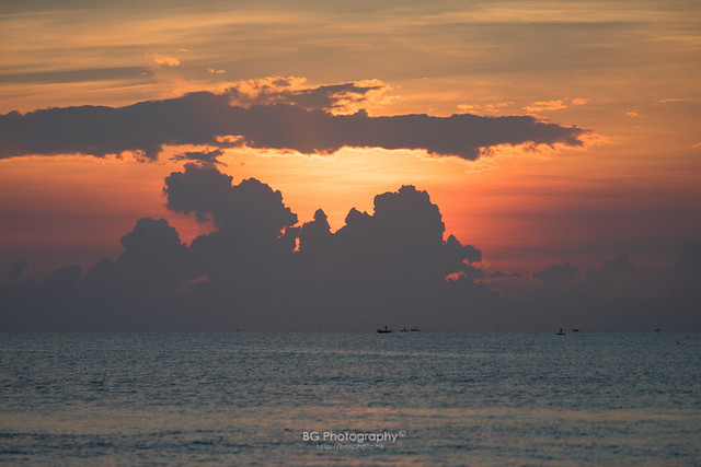 Sunrise on Sea Level.