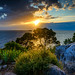 Adriatic sunset by AdMixStar