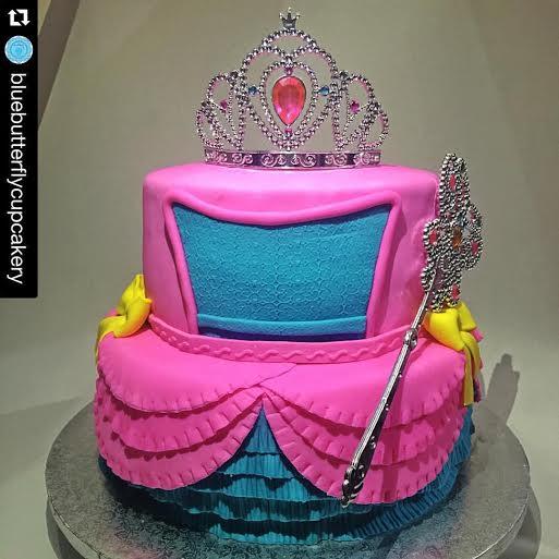 Joyce Anne Urquico's Princess Cake