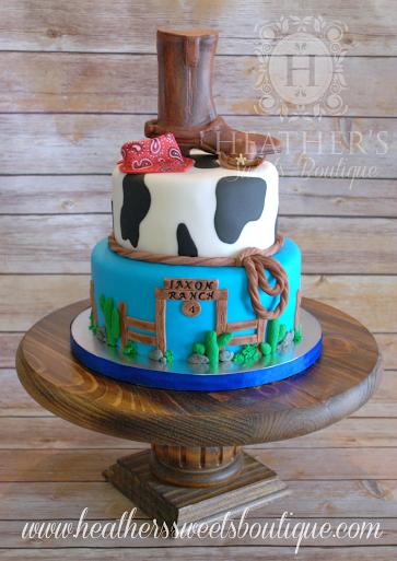 Heather's Sweets Boutique's Amazing Cowboy Cake