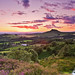 Summer sunset from Cockshaw Hill 2016. by paul downing
