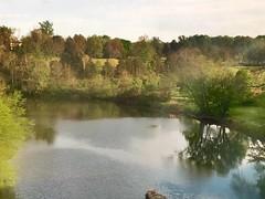 The Rapidan River in Virginia