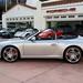 2009 Porsche 911 Carrera S (997) Cabriolet GT Silver on Black in Beverly Hills @porscheconnect 1229