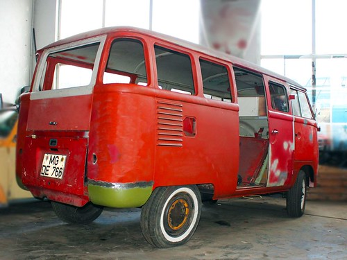 RV-28-72 Volkswagen Transporter 15raams 1958