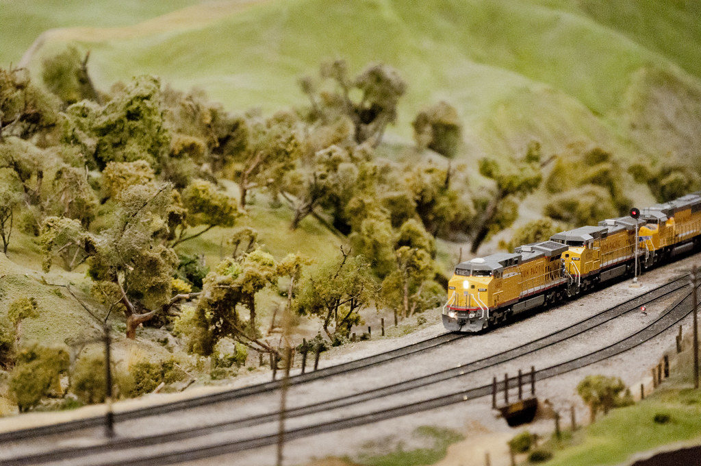Union Pacific Train at the San Diego Model Railroad Museum