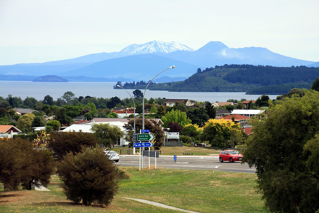 Mt Ruapehu from Taupo