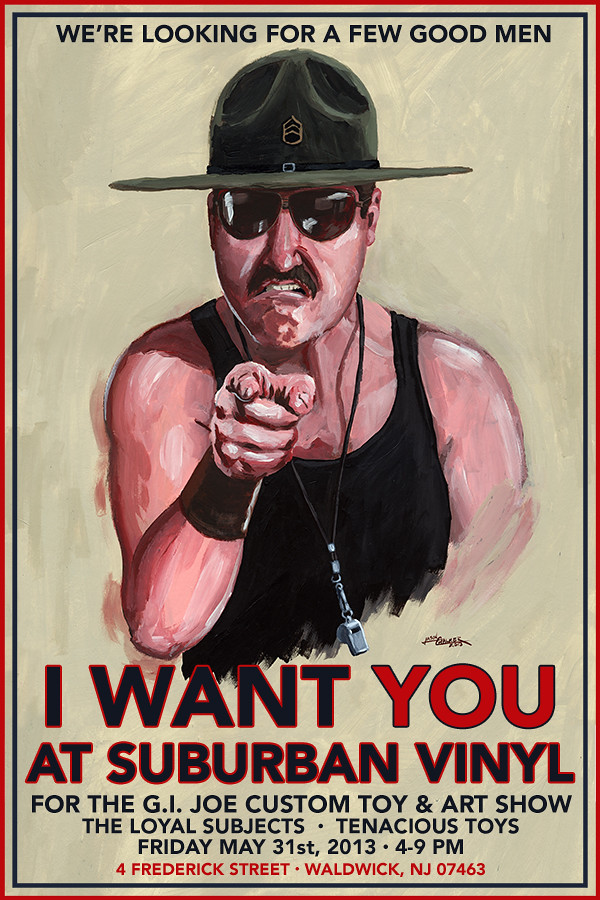 Sgt. Slaughter Wants You!