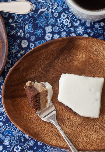 Espresso Cheesecake Brownies