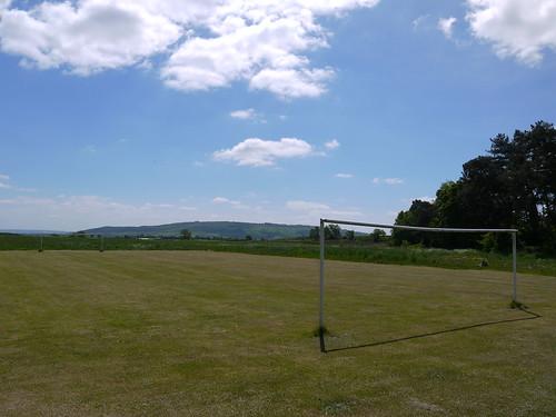 Proper football pitch