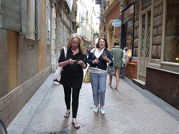 les deux amies à Nice