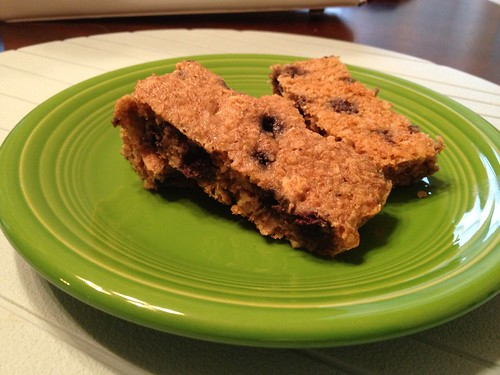 Blueberry Quinoa Bars