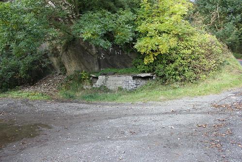 Stondin Laeth ger y chwarel, B4321, Llangrannog