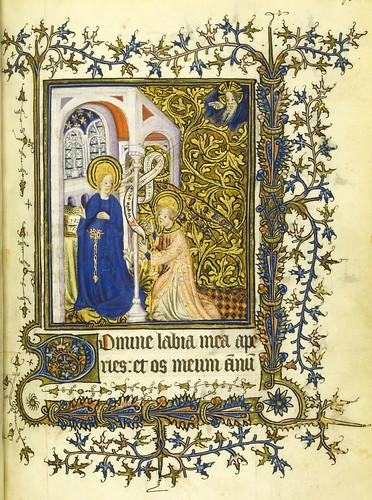 008-Horae Beatae Virginis Mariae…38r- Biblioteca Nacional de Varsovia