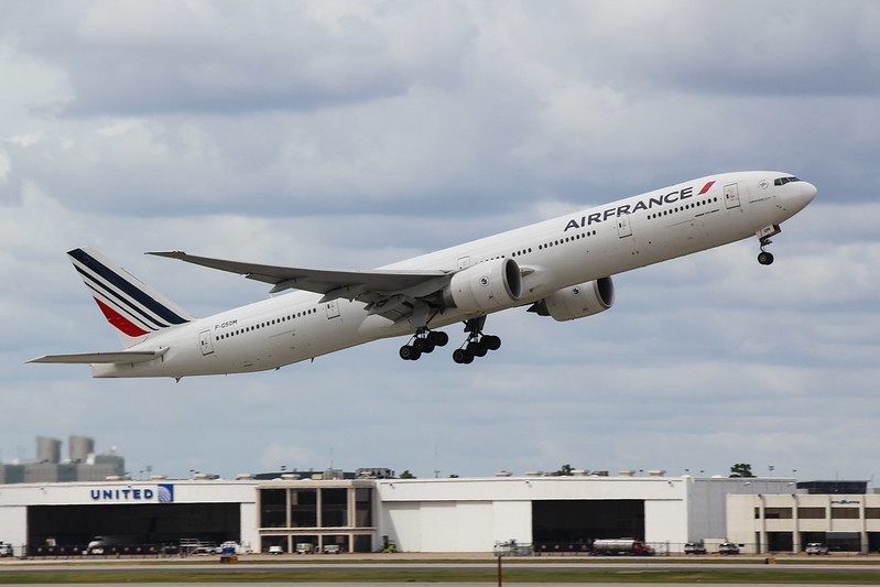 Air France Departure at IAH