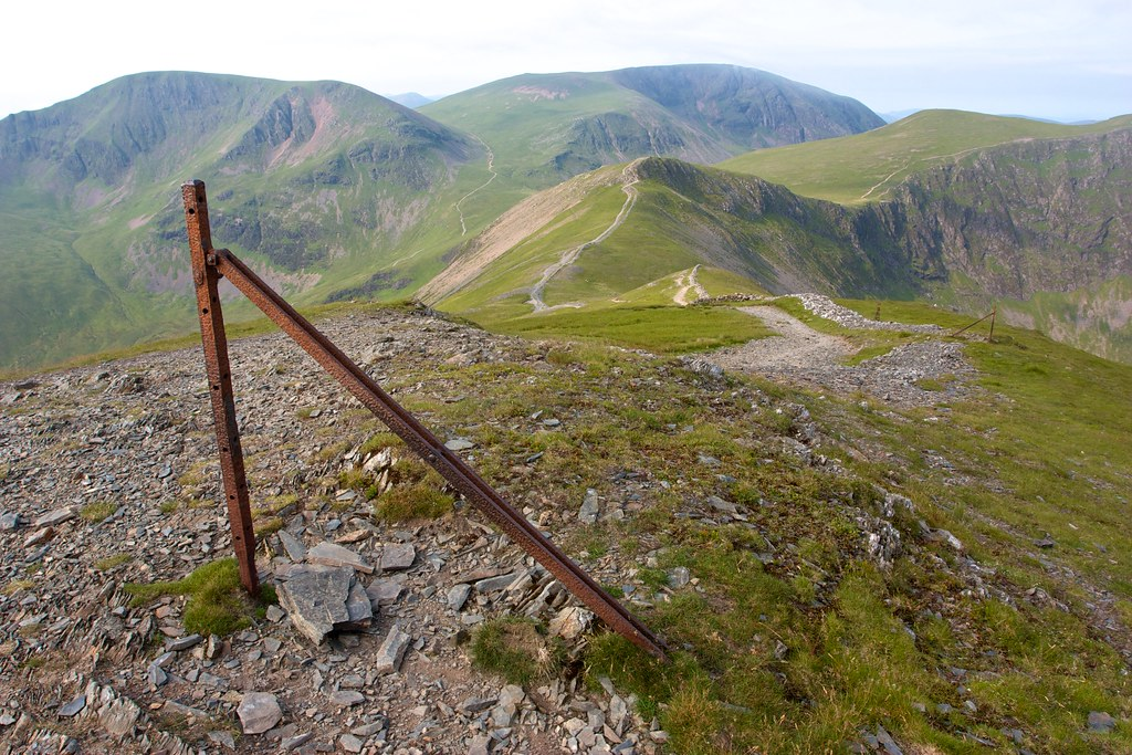 Descent of Grisedale Pike