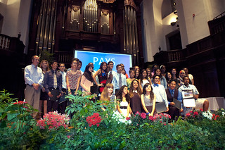 The Pomona Academy for Youth Success (PAYS) class of 2016 at a ceremony in July 2013