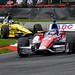 Takuma Sato leads Graham Rahal through the Carousel (Turn 12) at Mid-Ohio