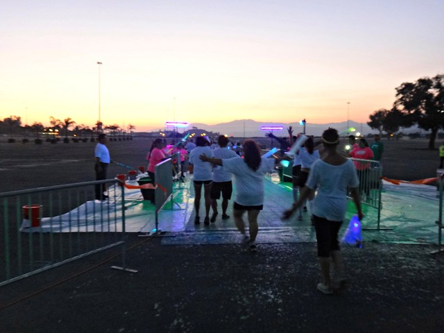 Neon Station #1 at The Neon Splash Dash