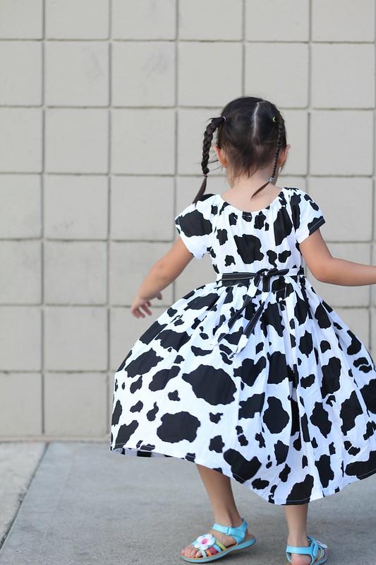 cow dress by replicate then deviate