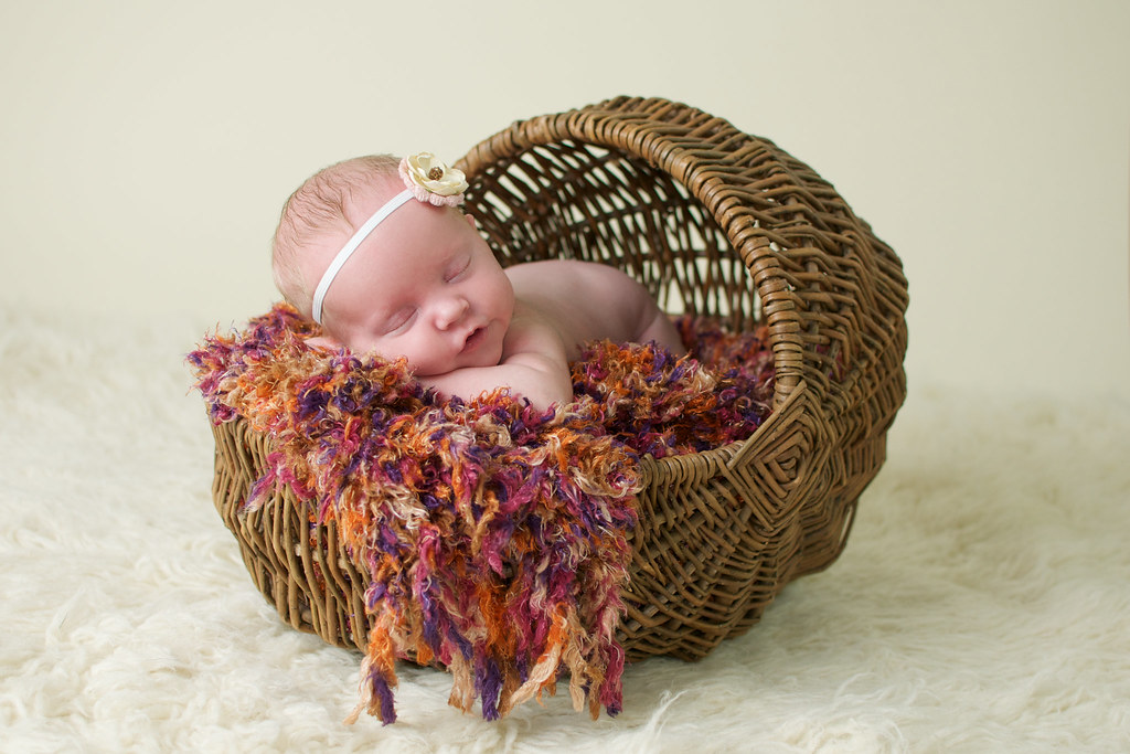 Miss C {Albuquerque Newborn Photographer}