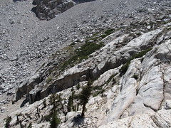Ascent from Mirror Lake to Trailside Meadows, 4.5 to 5.3 Miles, Mount Whitney Trail, California